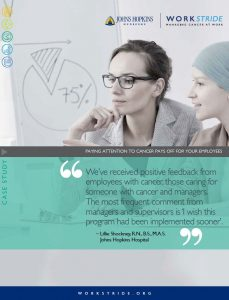 A Cancer Diagnosis Doesn T Mean The End Of Your Working Life Johns Hopkins Healthcare Solutions
