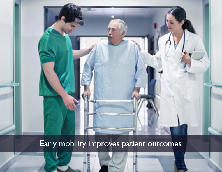 Early Mobility Improves Patient Outcomes Johns Hopkins